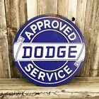 """Dodge Service Dealer 1950's Mopar Metal Tin Sign Vintage Style Garage 12"""" New"""