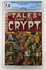 Tales from the Crypt #33 - CGC 7.0 FN/VF - EC 1953 - ORIGIN Crypt Keeper!