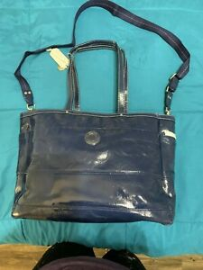 NWT Coach XL Signature C Multi-function/Baby Bag Patent Leather