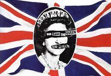 Sex Pistols Dios Salve Vintage Retro Metal Tin Señal Cartel Placa Decoración de pared A4
