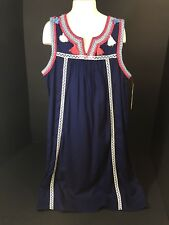 Childrens Clothes Girl Size Large Dress Sleeveless Red Camel Navy Red White NEW