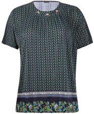 Camisas y tops de mujer de color principal azul de seda