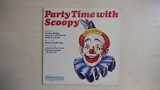 "RARE Columbia Record PARTY TIME WITH SCOOPY 7"" 33 1/3rpm 1965"
