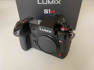 Panasonic Lumix DC-S1H 24.2MP Mirrorless Camera - Black