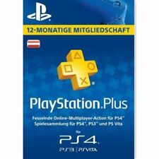 Sony PlayStation Plus 365 Tage Abonnement Karte - only italy account