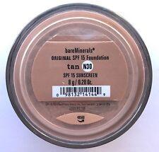 Bare Escentuals Bare Minerals Foundation TAN N30 8g XL ORIGINAL SPF15