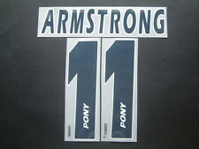 Armstrong Name + Number Official Replica Home tottenham 1996-1997 pony
