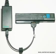 External Laptop Battery Charger for Toshiba Satellite C670 L670 L750D, PA3817U