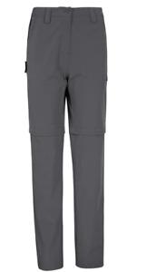Ladies Size 10 Mountain Warehouse Grey Convertable Trousers Walking Hiking £69
