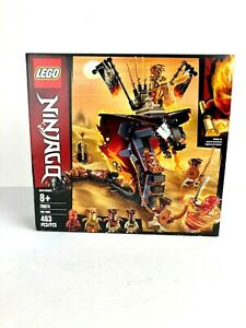 LEGO Ninjago Fire Fang 70674 463 Piece Toy Kai FS Aspheera Pyro NIB Retired