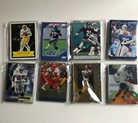 LARGE LOT OF 80 NFL Football Cards Lot 1990s 2000s Stars Rookies Inserts NM-M
