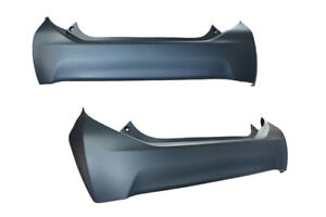 REAR BUMPER BAR COVER FOR TOYOTA PRIUS C NHP10 2011-ONWARDS