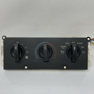1993 90 91 92 93 Ford Mustang Heater A/C Fan Control Panel OEM C681