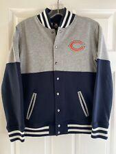 Chicago Bears Football Jacket Boys Sz 10-12 NFL Team Apparel Sweatshirt
