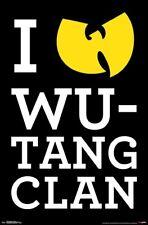 WU-TANG CLAN - I HEART POSTER 22x34 - MUSIC 16657