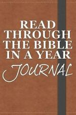 Read Through the Bible in a Year Journal, Westbrook, Rob, Acceptable Book
