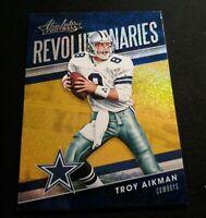 C16 2018 Absolute Revolutionaries #RE-TA Troy Aikman Dallas Cowboys