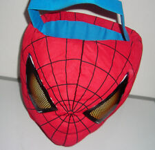 "MARVEL THE AMAZING SPIDERMAN 12"" CARRY CASE GIFT BASKET HALLOWEEN CANDY BUCKET"