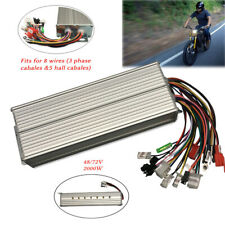 Brushless Motor Controller  DC 48-72V 2000W For E-bike Scooter Electric Bicycle