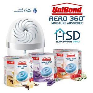 Unibond AERO 360 Room Moisture Absorber Device Dehumidifier Home Bedroom Living