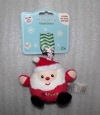 Rashti Magic Years Baby Christmas Santa Hanging Plush Crinkles Chime Toy NEW