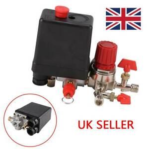 174 PSI 240V Air Compressor Pressure Switch Control Relief Cut Off Regulators