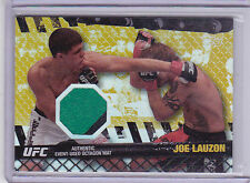 2010 Topps UFC Fight Mat Relics Gold #FMJL Joe Lauzon UFC 63 023/188