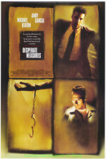 DESPERATE MEASURES MOVIE POSTER Original DS ANDY GARCIA MICHAEL KEATON