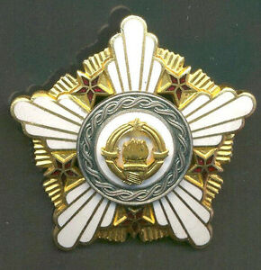 YUGOSLAVIA - ORDER OF REPUBLIC with SILVER WREATH in CASE - 2 CLASS nice quality