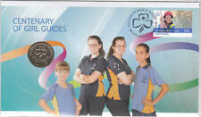 2010 Centenary of Girl Guides Fdc/Pnc With Limited Edition Ram $1 Coin