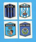 FIGURINA PANINI 1972/73-n.550- LATINA+LEGNAGO+MARSALA+MARTINA FRANCA -Rec