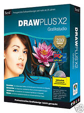 Serif DrawPlus X2 Grafikstudio Draw Plus + Star Office 8 DVD