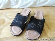 Fly Flot Slip On, Mules 100% Leather Upper Shoes for Women