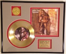 Jethro Tull Aqualung Golden Age of Rock n Roll Gold Record Display framed 13x16
