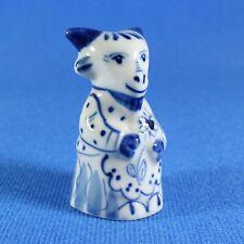 Goat Figurine Gzhel Porcelain Russia Handmade