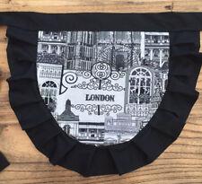 50s Frilly Waist Apron Pinny - Retro London Design