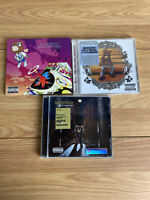 3 x Kanye West Cd's Graduation The College Dropout Late Registration