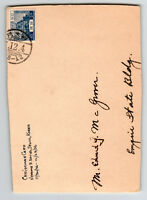 Japan 1930s Used in Korea Cover, FRONT ONLY - Z13046