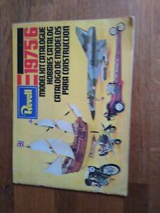 Rare Vintage Revell Model Kit Catalogue 1975/6, Full Colour