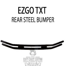 EZGO MED/TXT 1995-Up Rear Bumper / Brush Guard Black Steel Tube