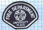 Fire  Patch  - UNIVERSSITY PLACE FIRE DEPARTMENT