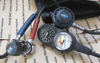 Scuba Pro MK 10 1st with G250 2nd and Gauges package