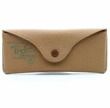 VINTAGE B&L RAY BAN USA GENUINE LEATHER AVIATOR SUNGLASS CASE EXCELLENT