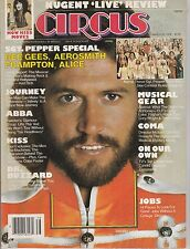 MARCH 30 1978 CIRCUS music magazine KISS  - BEE GEES