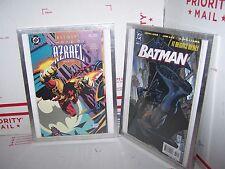 LOT OF 2 BOOKS Batman Sword of Azrael Book One NO 1 & BATMAN IT BEGINS HERE