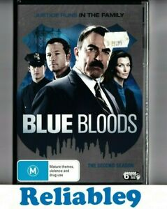 Blue Bloods The second season 6DVD+Special features Sealed R4-2014 CBS Australia