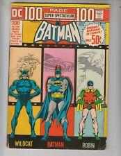 DC 100 Page Super Spectacular 14 VG+ (4.5) Batman, Wildcat, Atom! 10/71