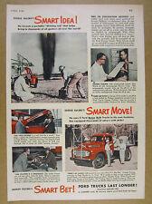 1949 Ford F7 Big Job Truck Enid OK Oil Gas Exploration Co Use vintage print Ad