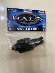 """Halo Master Chief Special Edition Green 3"""" Figure Joyride Gamestop"""
