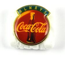 COCA-COLA COKE EE.UU. Solapa Pin PIN BADGE Broche - ALWAYS LOGO Botella